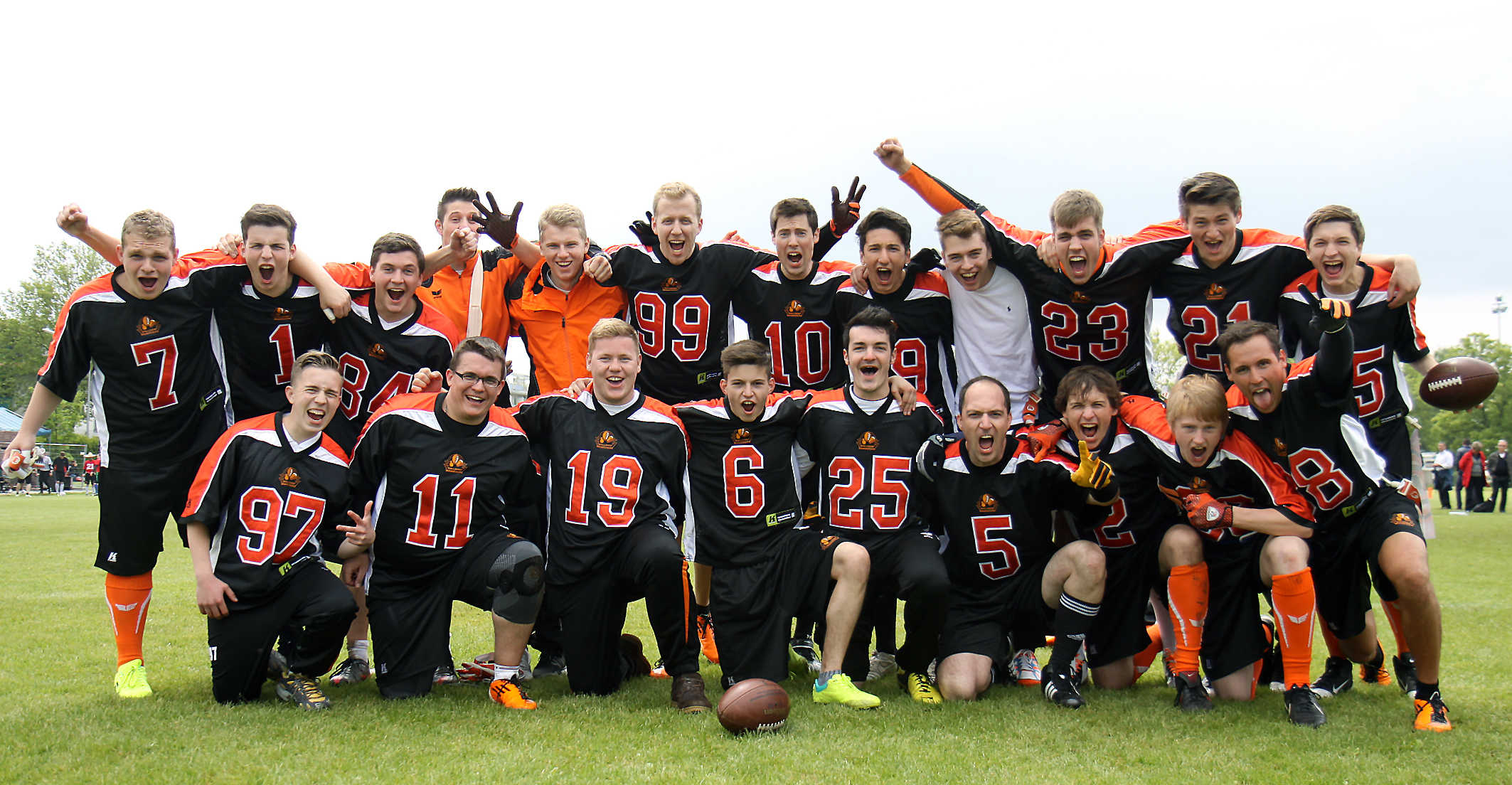 Ein Team - die Walldorf Wanderers.